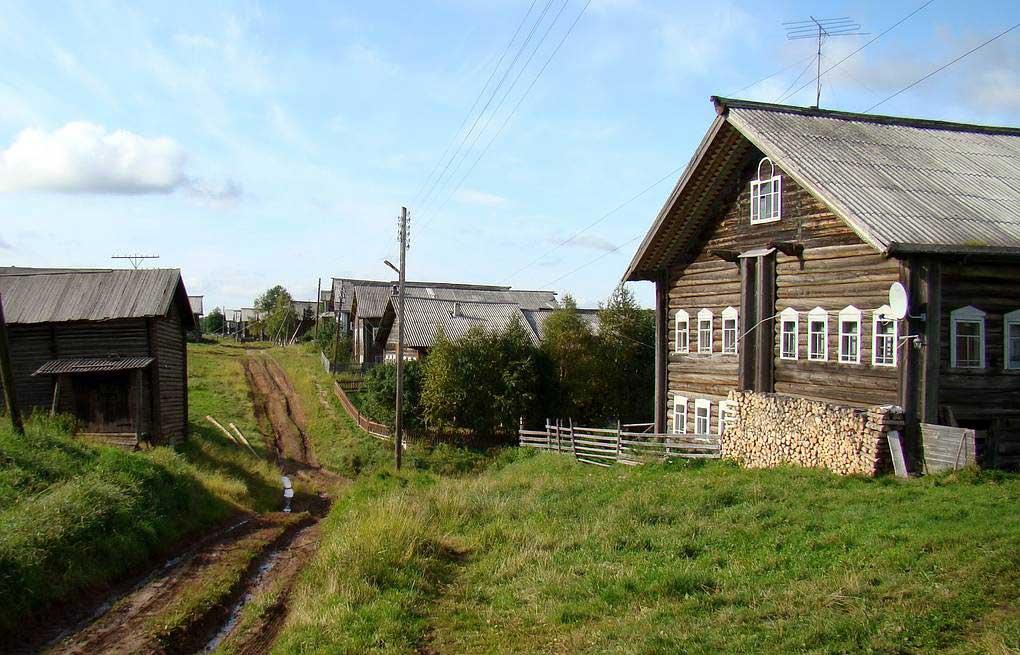 деревня бабы нины где она живет